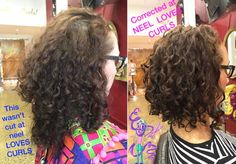 This lovely regular couldn't get into see us and went for a cut elsewhere . There is no actual training in curly hair in Australia when you learn to cut hair ! She will will have to wait another 5 months before her next cut for it to be totally corrected ! She said she's going home tonight to re book her next appointment with us ! #hydration #hydrated #hydrate #bestsalonmelbourne #bestcurlyhair #hydrated #innersense #innersensevolume #innersenseorganichydrating #jessicurl #modernsalon…