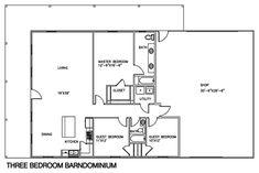 Beau Barndominium Floor Plans 2 Story, 4 Bedroom, With Shop, Barndominium Floor  Plans Cost