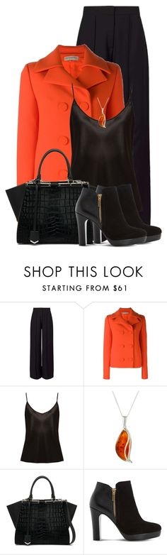 """Fall Favorites - Outfit Only"" by colierollers ❤ liked on Polyvore featuring Miss Selfridge, Emilio Pucci, La Perla, Goldmajor, Fendi and Dune"