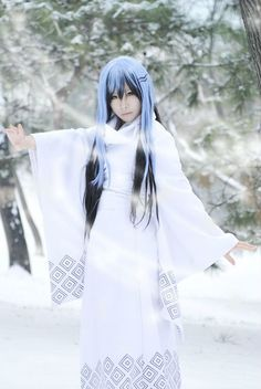 11 Best Cosplay Yuki Onna Images Yuki Onna Cosplay Costumes