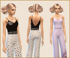 Sims 4- rekolory: Kombinezon