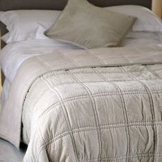 Bedroom style inspiration and ideas: Yamuna Velvet quilt 100% cotton