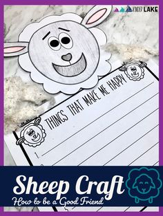 """Looking to help your class talk about what a good looks like? Use the book, """"My Friends Make Me Happy,"""" writing prompts, and what good friends say sort, with included lesson plans for a week full of fun activities."""