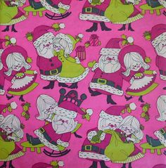 pink christmas wrapping paper pink christmas wrapping paper vintage wrapping paper christmas paper - Pink Christmas Wrapping Paper