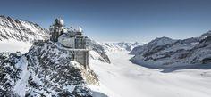 Top of Europe Jungfraujoch, most scenic railway