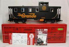 LGB 42710 Rio Grande Caboose Car Train Set G Scale Lehmann Queen Mary 1991 | eBay