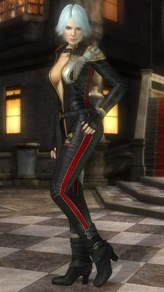 Christie - Dead or Alive series - DOA5 costume