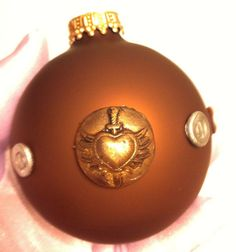 Steampunk Winged Heart and Sword Christmas by PurpleKoiDesigns, $10.00 http://www.etsy.com/listing/115718642/steampunk-winged-heart-and-sword