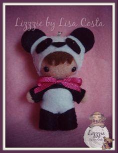 Panda baby doll