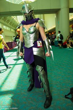 Fem Shredder cosplay ComicCon 2014 Day 1 #SDCC2014 #Rule63