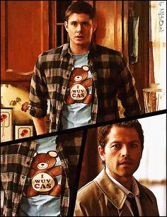 Where's my 'I WUV CAS' shirt?!?! Loooooove :)