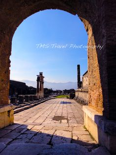 Pompeii Ruins Photo.   http://www.etsy.com/shop/TawnyPhotography?ref=seller_info