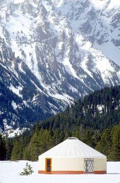 Gallery   Rainier Yurts