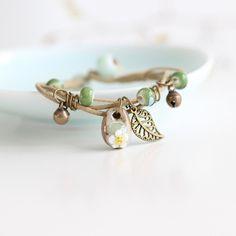Delicate Hand-Woven Ceramic Bracelet