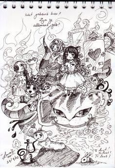 Un artista convierte mujeres sugerentes en mujeres poderosas alice in wonderland by lauespi97 solutioingenieria Choice Image
