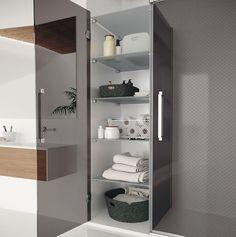 Konvert solución inteligente a medida Profiltek Bathroom Medicine Cabinet, Ideas Para, Lockers, Locker Storage, Architecture, Furniture, Restaurant, Home Decor, Maximize Space