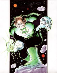 Kilowog - Yildiray Cinar. Hails from Sector 674. Think he is cool but can't figure out how he often ends up half-way around the galaxy to pal around with the GLs of Earth in Sector 2814. After all doesn't he have his own sector to protect?