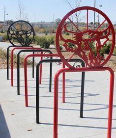 omaha artistic bike racks