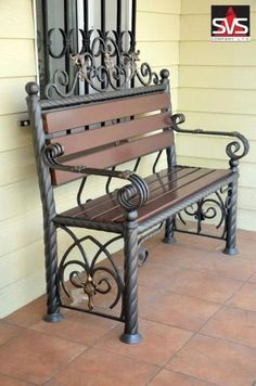 Why Teak Outdoor Garden Furniture? Iron Patio Furniture, Steel Furniture, Outdoor Garden Furniture, Office Furniture, Wrought Iron Bench, Wrought Iron Patio Chairs, Vintage Industrial Furniture, Iron Decor, Dining Table Chairs