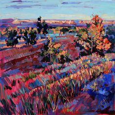 """""""Arizona Summer"""" Oil Painting by Erin Hanson"""