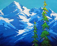 SNOWY RANGE by Jesse Crock