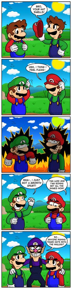 Switching Caps In Mario 64 DS by Gabasonian.deviantart.com on @deviantART