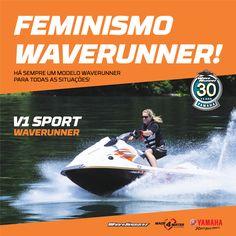 Yamaha Waverunner V1 SPORT: https://www.yamaha-motor.eu/pt/produtos/waverunners/recreio/v1-sport.aspx  #yamahamarina #yamahawaverunner #waverunner #yamahamarineworld #mundoyamahamarine #jetski #motodeagua #waverunnerv1sport