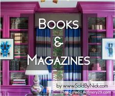 #decluttering #minimalizing #organizing your books and magazines