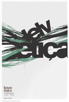 Beautiful Helvetica Poster