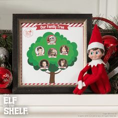 Family Tree | Elf on the Shelf Ideas
