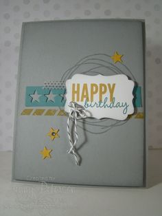 Simple looking birthday card