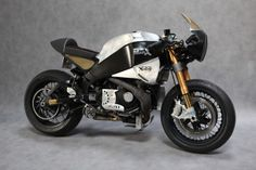 Buell Norton Manx Neoretro ~ Return of the Cafe Racers