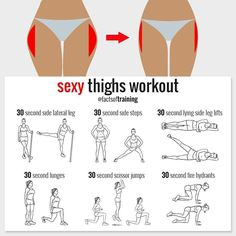 fitness, workout, and exercise image Fitness Workouts, Butt Workout, Fitness Tips, Thin Legs Workout, Tighs Workout, 5 Min Workout, Toned Legs Workout, Fitness Motivation, Exercise Motivation