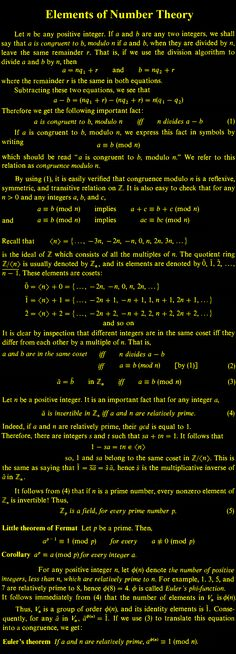 64 best number theory images on pinterest number theory numbers elements of number theory fandeluxe Choice Image