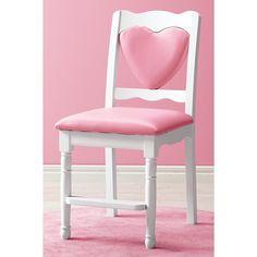 Pink Heart Chair