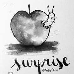 Surprise - by Camille Medina #inktober #inktober2016