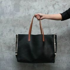 Makers Market - Pendleton Wool and Leather Tote, $225.00 (http://makersmarket.us/pendleton-wool-and-leather-tote/)