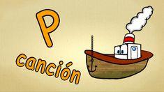 aprender español para niños - La letra P -como aprender hablar español