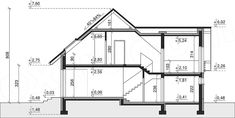 Rzut projektu Dom przy Cyprysowej 29 House Plans, Floor Plans, Dom, How To Plan, Projects, Blueprints For Homes, House Design, Home Plans, Home Floor Plans