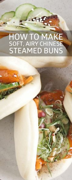 How to Make Soft, Airy Chinese Steamed Buns Steam Buns Recipe, Bun Recipe, Asian Recipes, Mexican Food Recipes, Healthy Recipes, Ethnic Recipes, Cooking Chinese Food, I Love Food, So Little Time