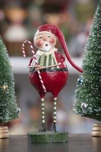 Whimsical Christmas decorations & figurines by Lori Mitchell. Cute wire leg figures will warm your heart with holiday cheer. Shop Lori Mitchell Christmas now! Christmas Home, Vintage Christmas, Christmas Holidays, Christmas Crafts, Christmas Ornaments, Christmas Vignette, Father Christmas, White Christmas, Christmas Ideas