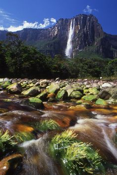 Angel Falls - in Venezuela but I haven't been able to go
