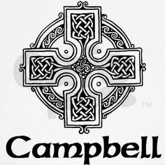 CLAN CAMPBELL'S CELTIC CROSS ...