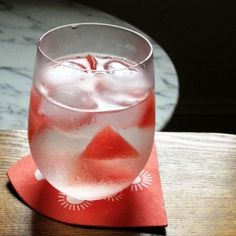 Watermelon Ginger Gin and Tonic