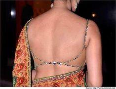 Top 7 Backless Blouse Designs for Sarees   Saree Blouse Designs