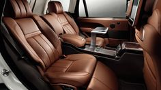 Land Rover will bring only 100 copies of the 2014 Range Rover Autobiography Black to the U. Pricing hasn't been announced, but it's expected to be. a lot. Range Rover Supercharged, Range Rover Lwb, Range Rover Sport, Range Rovers, Suv Cars, Car Car, Sport Cars, Range Rover Autobiography, Range Rover Interior