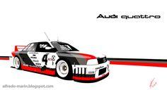 Alfredo Marín Portfolio: Audi 90 quattro IMSA GTO 1989