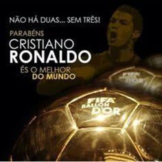 Grande Ronaldo parabens ⚽⚽#ballondor #cristianoronaldo #fifaballondor2015