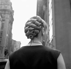 New York hair, 1954.