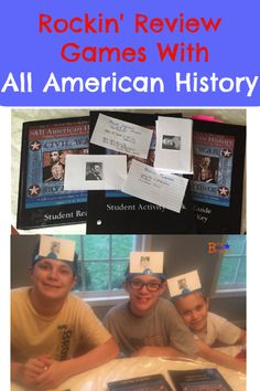 Rockin' Review Games with All American History